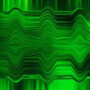 Green Waters Art Print