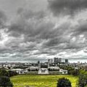 Greenwich And Docklands Hdr Art Print