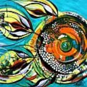Gretchen Fish A Citrus Twist Art Print