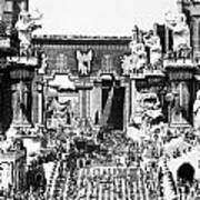 Griffith: Intolerance 1916 Art Print