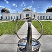 Griffith Observatory 1 Art Print