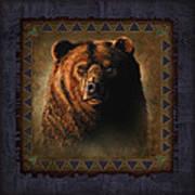 Grizzly Lodge Art Print