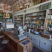 Grocery Store Of Yesteryear - Virginia City Montana Ghost Town Art Print