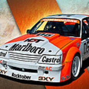Group C Vk Commodore Art Print