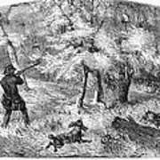 Grouse Hunting, 1855 Art Print