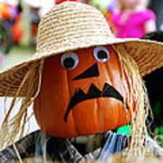 Grumpy Pumpkin Art Print