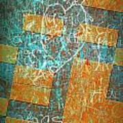 Grunge Background 6 Art Print