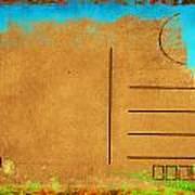 Grunge Color On Old Postcard Art Print by Setsiri Silapasuwanchai