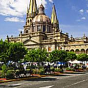 Guadalajara Cathedral Art Print