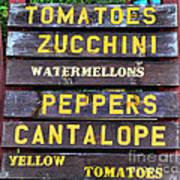 Guaranteed Farm Fresh Foods  Art Print