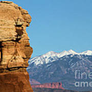 Guardian Of Arches Art Print