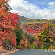 Guardsman Pass To Midway In The Fall - Utah Art Print