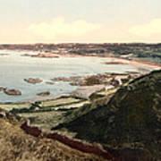 Guernsey - Rocquaine Bay - Channel Islands - England Art Print