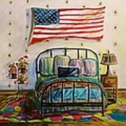 Guest Bedroom Art Print