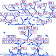 Guggenheim Family Tree Art Print