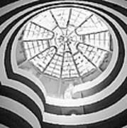 Guggenheim Museum Bw200 Print by Scott Kelley