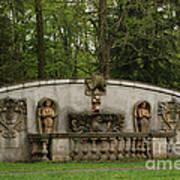Guildwood Park Statute Art Print