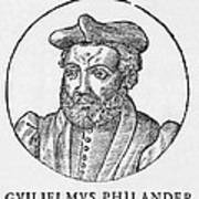 Guillaume Philandrier, French Humanist Print by Middle Temple Library