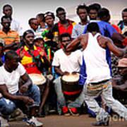 Guinean Dancing  Art Print