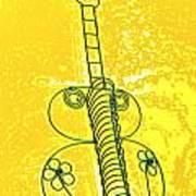 Guitar 2c Art Print
