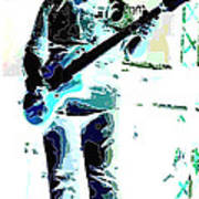 Guitarrist Art Print by David Alvarez