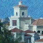 Gulfstream Village Art Print