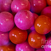 Gum Balls Art Print