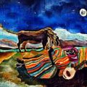 Gypsy Tribute To Henri Rousseau Art Print by Sandra Kern