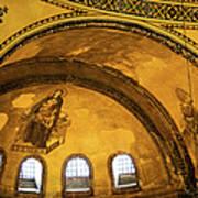 Hagia Sophia Architectural Details Art Print
