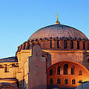 Hagia Sophia In Istanbul Art Print