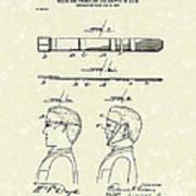 Hair Growth System 1903 Patent Art Art Print