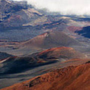 Haleakala Volcano Art Print