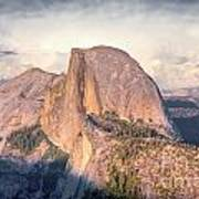 Half Dome Portrait Art Print