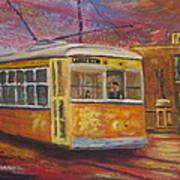 Halifax Trolley Art Print