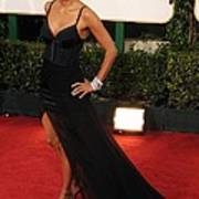 Halle Berry  Wearing A Nina Ricci Gown Art Print