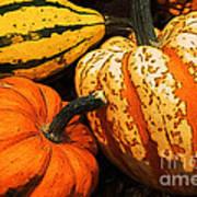 Halloween Colors Art Print