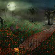 Halloween - One Hallows Eve Art Print