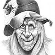 Halloween Weeotch Art Print by Murphy Elliott