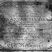 Hamilton: Pamphlet, 1797 Art Print