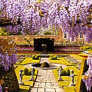 Hampton Court Gardens IIi Art Print