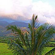 Hanalei Panorama Kauai Art Print