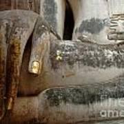 Hand Of Thai Buddha Art Print