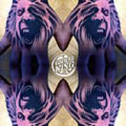 Hand Tattoo  Art Print