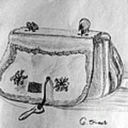 Handbag Art Print