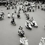 Hanoi Traffic Art Print