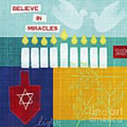 Hanukkah Miracles Art Print