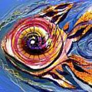 Happified Swirl Fish Art Print