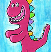 Happosaur Art Print