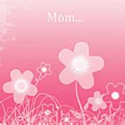 Happy Birthday To You Mom Art Print