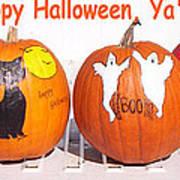 Happy Halloween  Yall Art Print